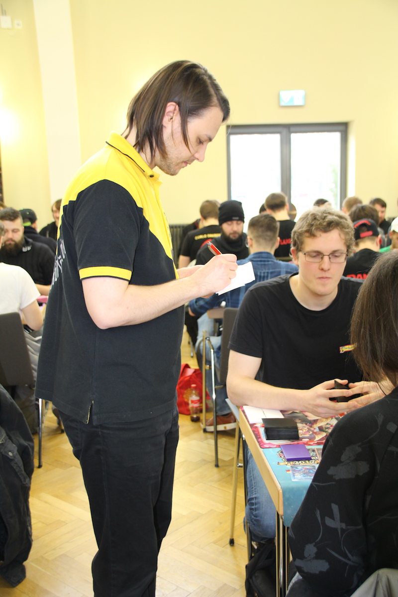 Staff Team des Force of Will Grand Prix in Berlin 2018