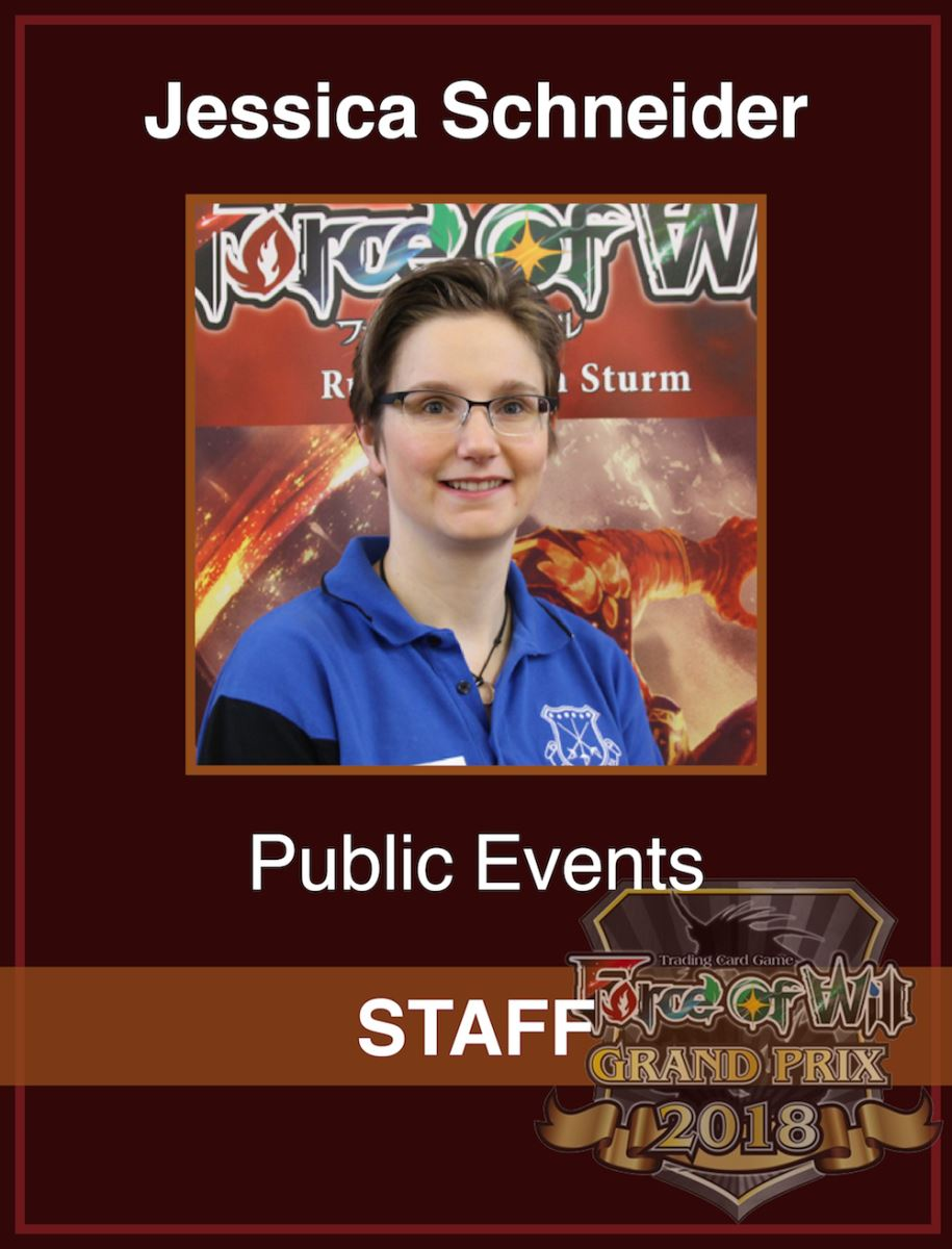 Das Volunteer Staff Team beim Force of Will Grand Prix Berlin