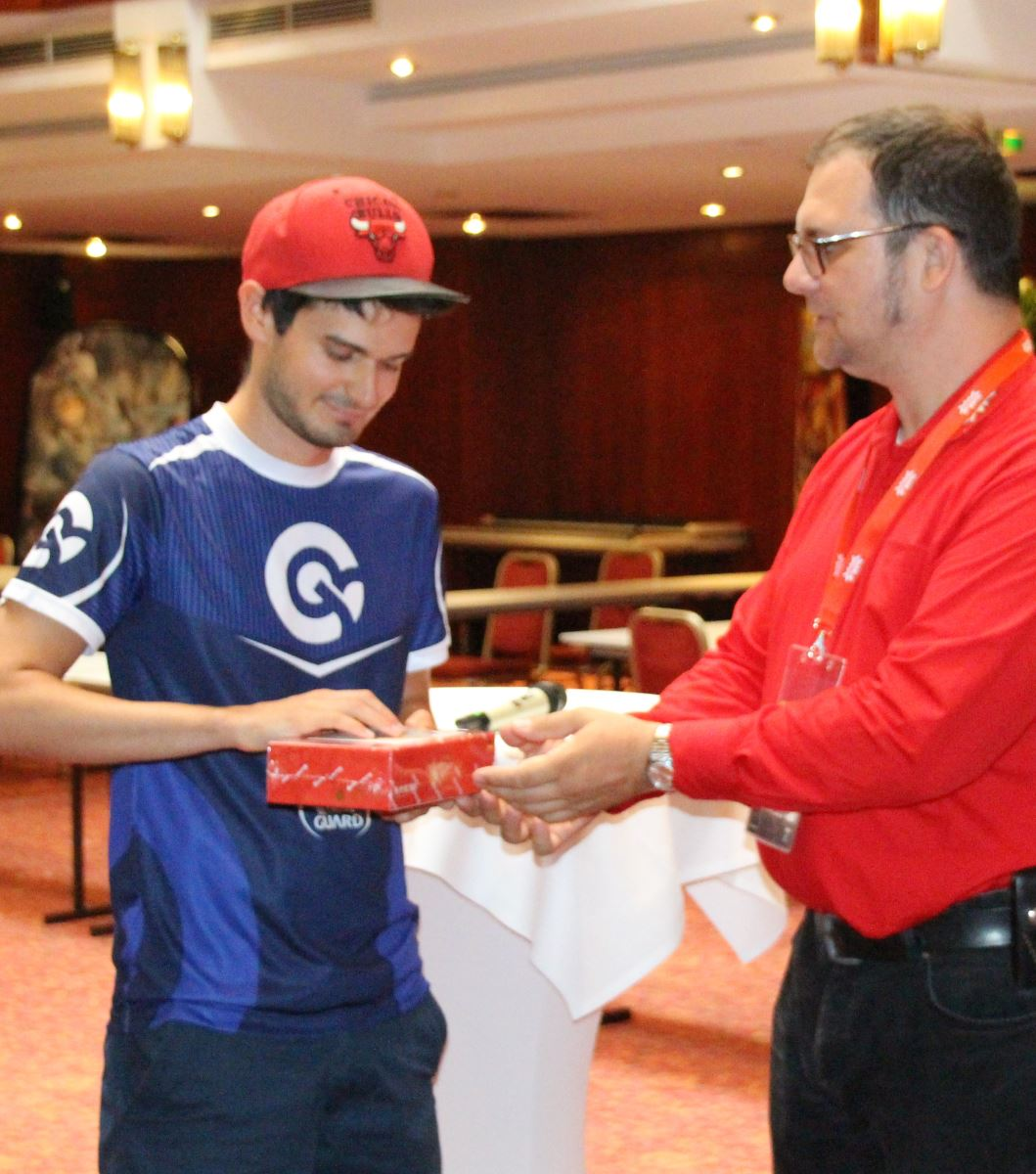 Force of Will Grand Prix Wien Siegerehrung Federice Zoppini