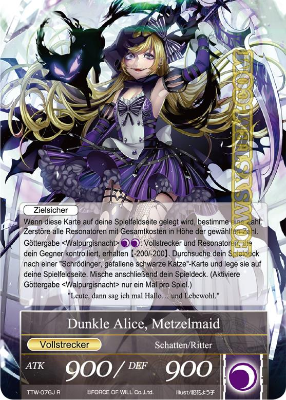 Dunkle Alice