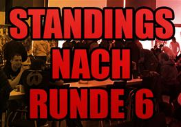 Standings nach Runde 6 / Ende Tag 1