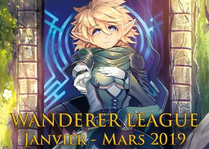 Wanderer League Janvier - Mars 2019