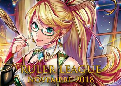 Ruler League Novembre 2018