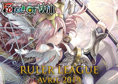 Ruler League Avril 2019